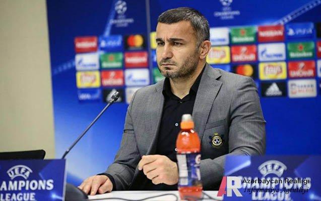 Futbol üzrə Azərbaycan millisinin baş məşqçisi Qurban Qurbanov istefa verib